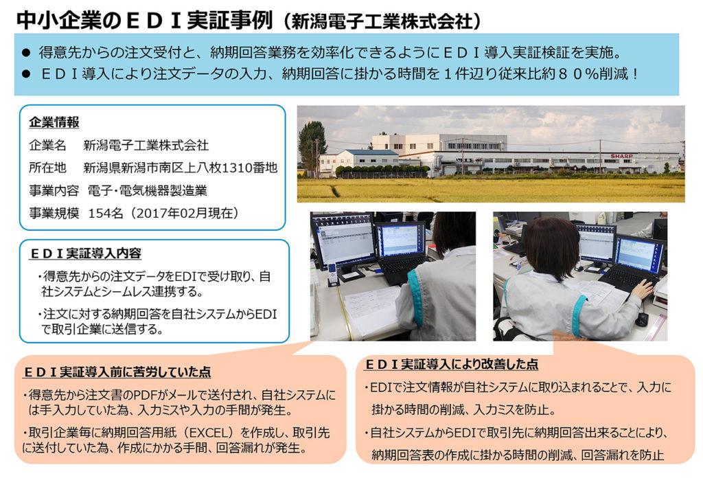 新潟電子工業(株)による導入事例