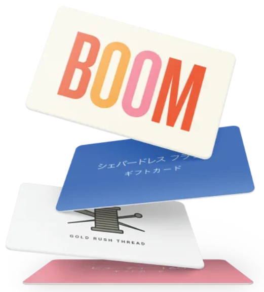 Squareのギフトカード